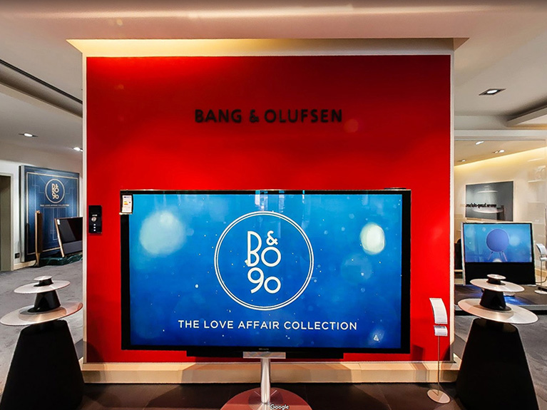 Bang and Olufsen Store